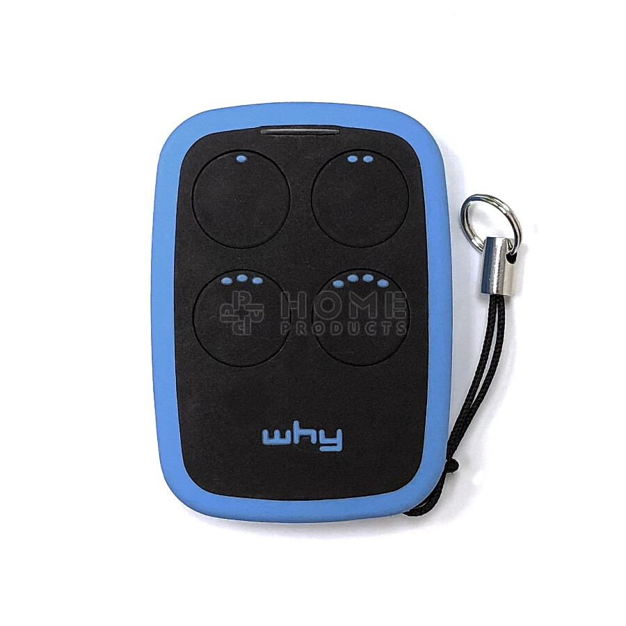Why Evo 2nd generation universal remote control (replacement remote), Sky Blue