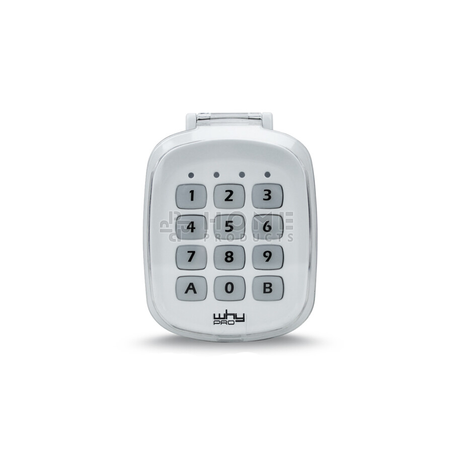Why Evo wireless universal keypad also for Faac XT 433 SLH
