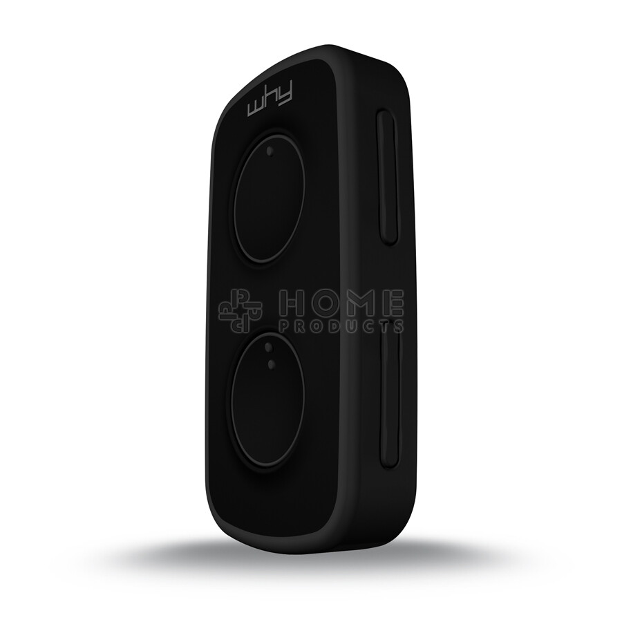 Why Evo Mini universal remote control (replacement remote), Intense Black