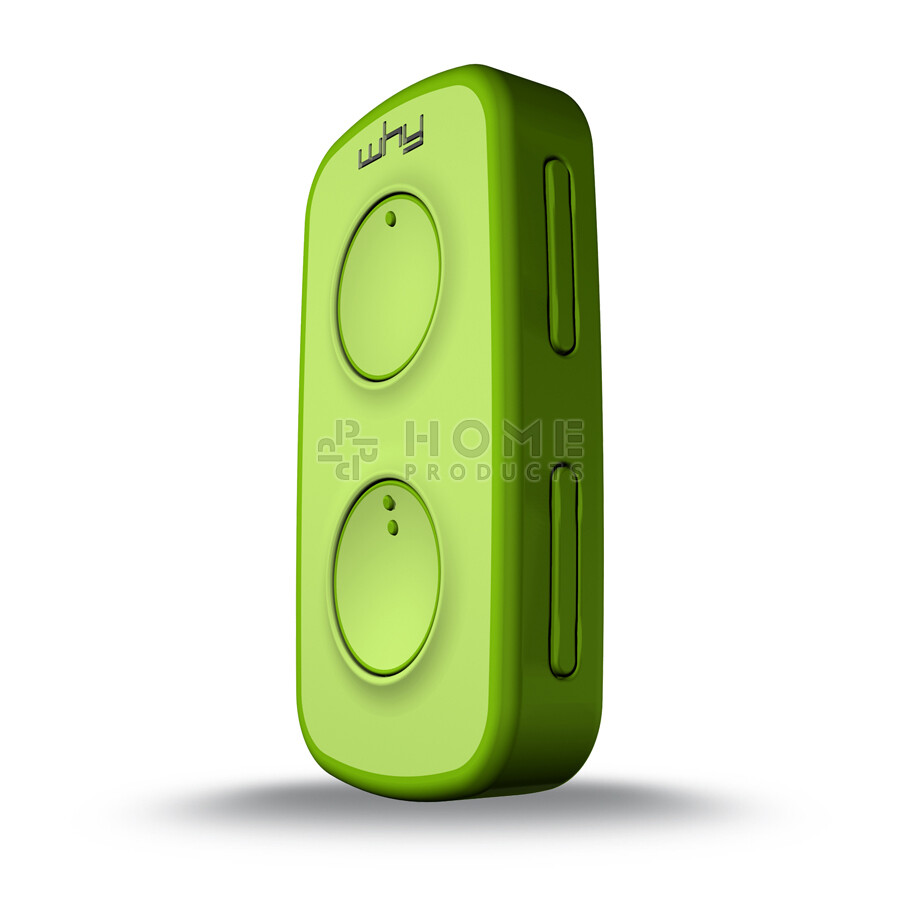 Why Evo Mini universal remote control (replacement remote), Acid Green also for Mhouse GTX4