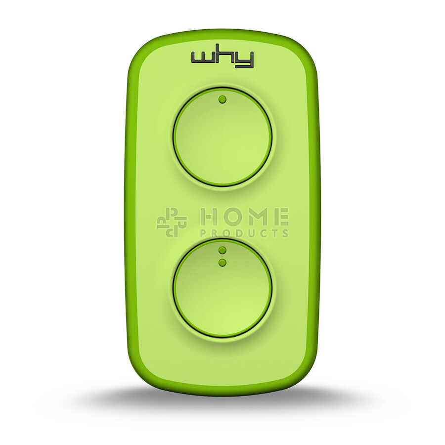 Why Evo Mini universal remote control (replacement remote), Acid Green