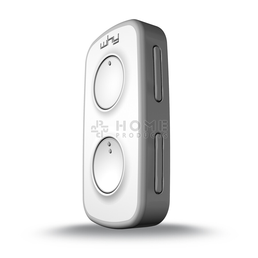 Why Evo Mini universal remote control (replacement remote), Pure Grey also for Mhouse GTX4