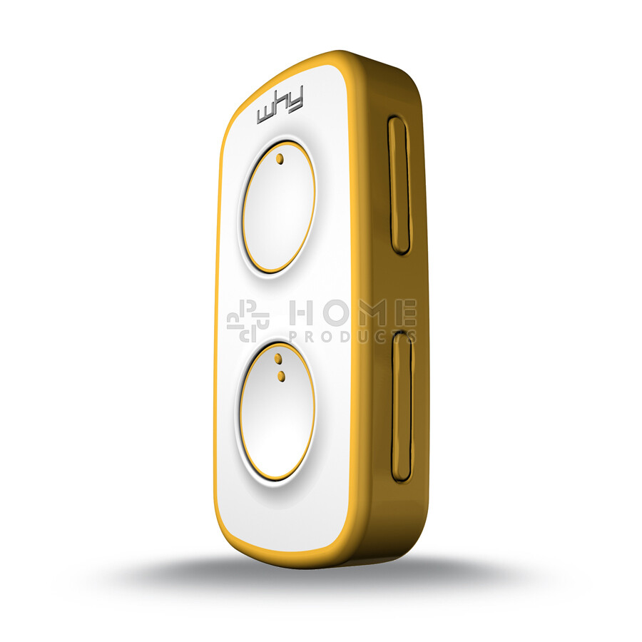 Why Evo Mini universal remote control (replacement remote), Pure Yellow also for Mhouse GTX4
