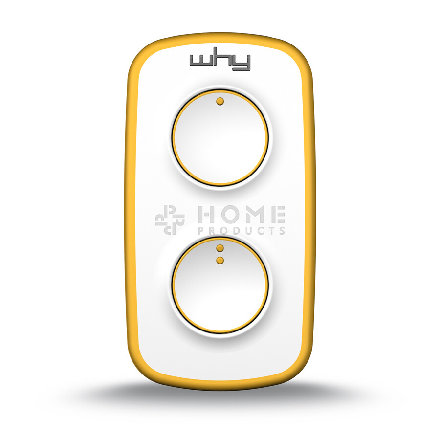 Why Evo Mini universal remote control (replacement remote), Pure Yellow